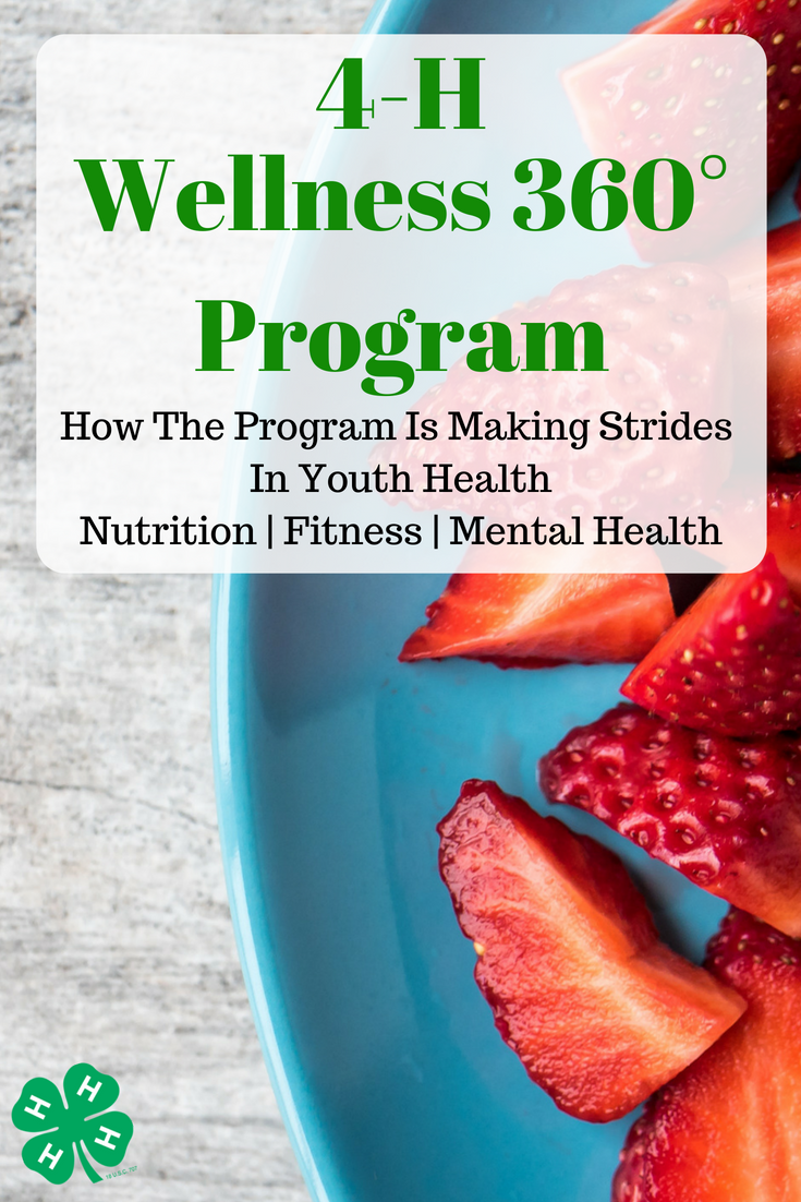 How the 4-H Wellness 360° Program helps teens teach youth the confidence they need to live healthier lives in fitness, nutrition and mental wellbeing. #Ad #IC #4HWellness360