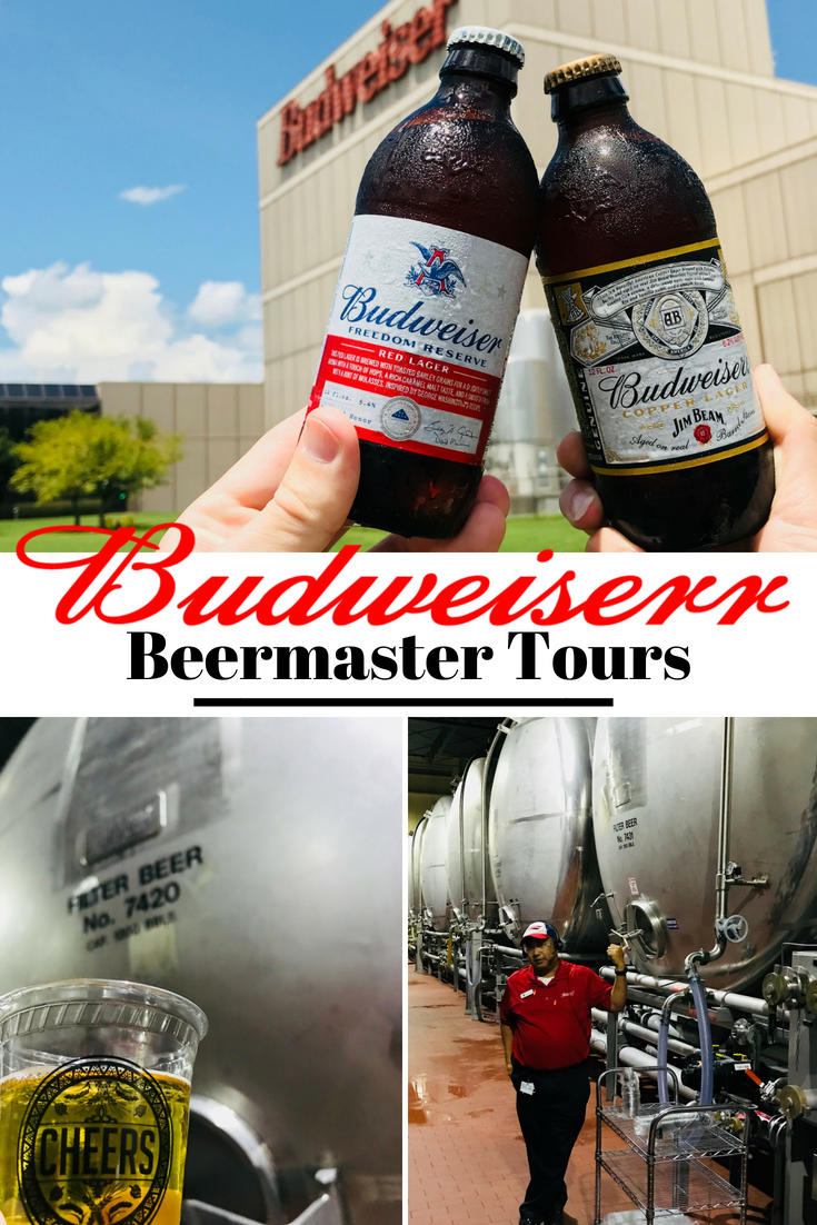 Beer masters unite at the Budweiser Brewery Tours. See what the tour entails and find out if it's worth your $25 cost. Tours are in GA, CA, MO, CO, TX, FL and NH! #Beer #Budweiser #Brewery #Craftbeer