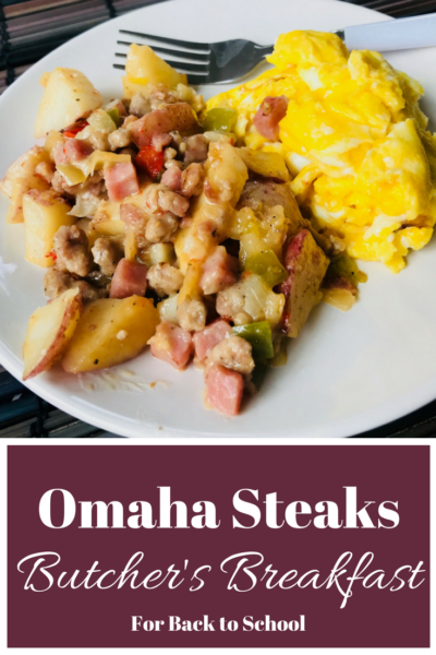 #AD These @OmahaSteaks #ButcherBreakfasts are perfect for #BacktoSchool. They are freezer to table in 15 minutes and a wholesome start to the day! #OmahaSteaks