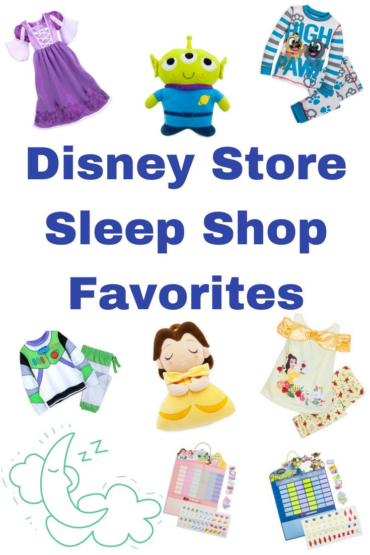 Shop these fun Disney Store Sleep Favorites to make bedtime a bit more magical! #Disney #DisneyStore #ShopDisney