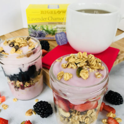 Easy Breakfast Berry Parfaits: The Perfect Hot Tea Pairing