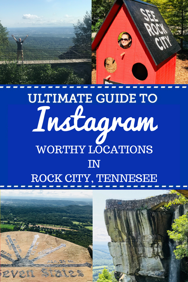 If you're traveling to Chattanooga and checking out the Lookout Mountain attractions, these are the most Instagram worthy spots! Rock City Tennessee is a treasure of beautiful locations to photograph. Perfect for the travel enthusiasts who document on social media. #Travel #Tennessee #FamilyTravel #Chattanooga #RockCIty #SeeRockCity #Photography #PhotographyTips
