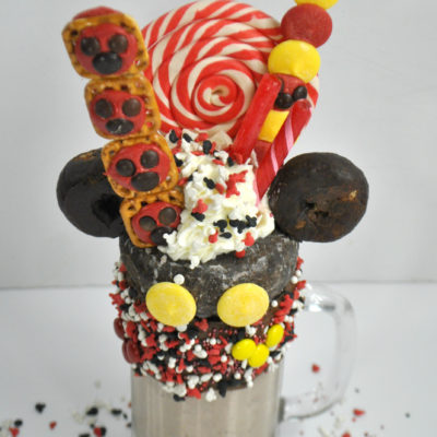 Mickey Mouse Milkshake Recipe- Happy 90th Birthday!