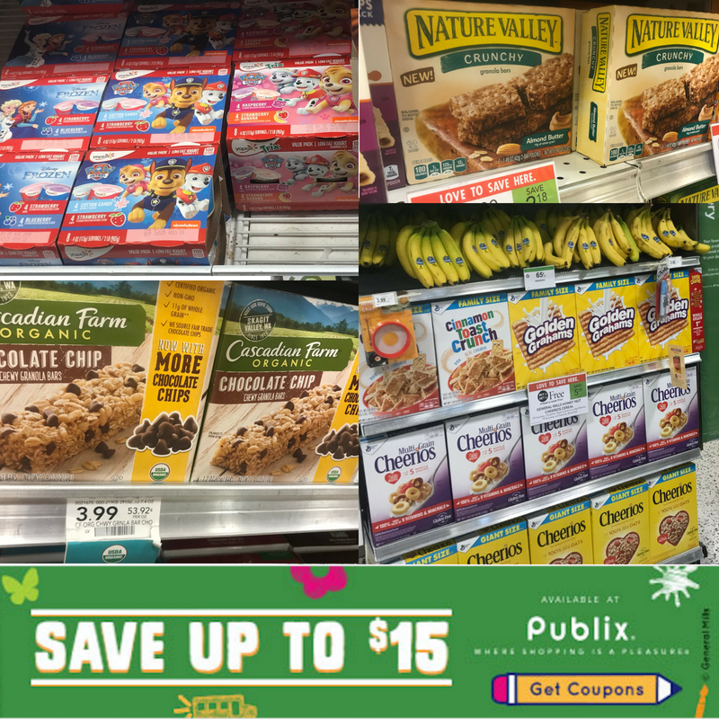 DIY Snack Bar, Kid's DIY Snack Bar, General Mills Coupons, Publix Coupons