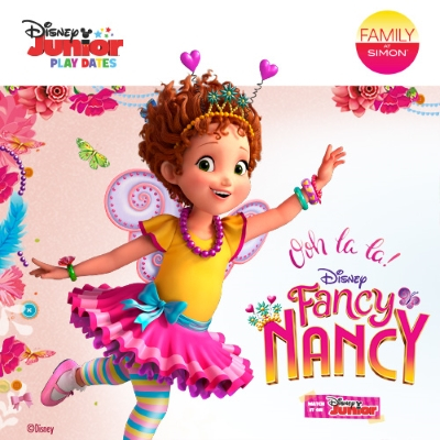 Fancy Nancy Disney Junior Play Date, Simon Malls, Atlanta Events