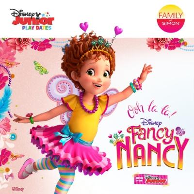 "Atlanta Simon Malls Host ""Fancy Nancy"" Disney Junior Play Date"
