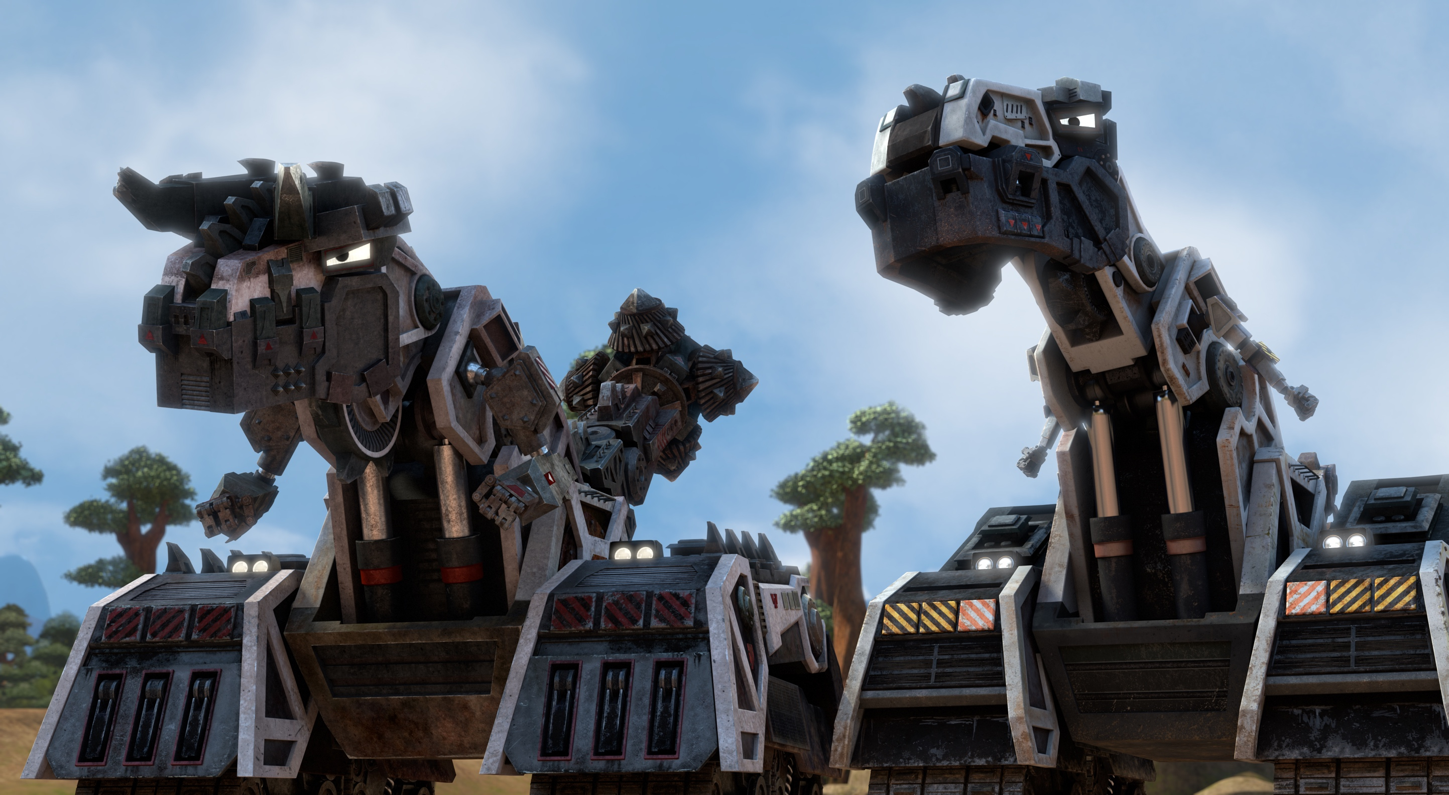 Dinotrux Supercharged, Dinotrux, DreamWorks TV, Netflix for Kids