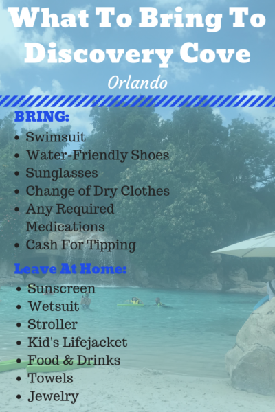 What to bring to Discovery Cove in Orlando + the ultimate guide of everything there is to do for all ages. #FamilyTravel #DiscoveryCove #Orlando #Florida