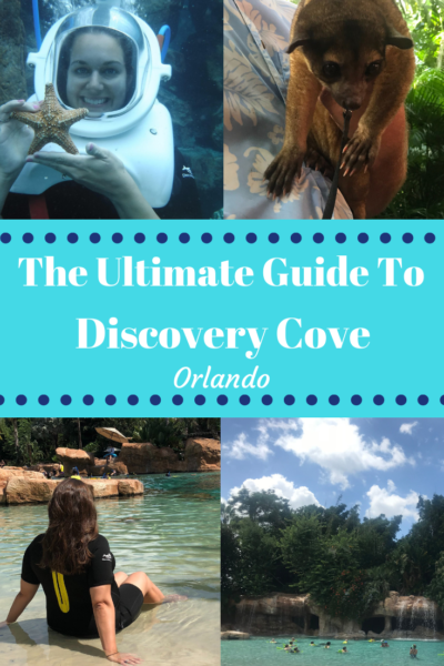 The ultimate guide to SeaWorld's Discovery Cove in Orlando. What to bring, What is included, Discovery Cove prices and tips for going as a family. #FamilyTravel #DiscoveryCove #Orlando #VacationPlanning #FamilyVacations #Florida #Travel #OrlandoTravel