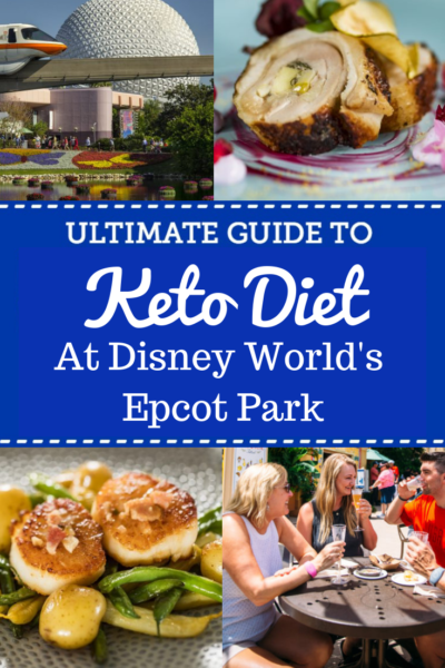 How to maintain a Keto diet in Epcot while vacationing at Disney World. Know which restaurants will have your best low-carb options. #LowCarb #KetoDiet #DisneyWorld #DisneyTips #DisneyVacationPlanning #DisneyFood
