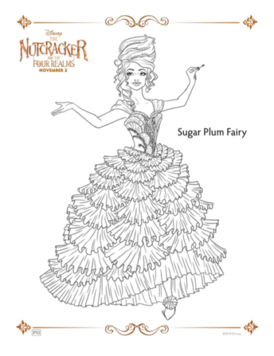 Disney's Nutcracker Coloring Pages, Disney's Nutcracker, Disney's Nutcracker Movie