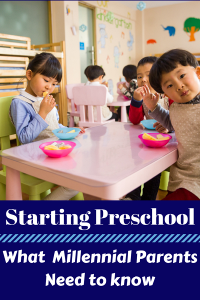 Tips for when your child is starting preschool. It has changed since the 1980's and here is everything you need to know as a parent. #Parenting #School #Preschool #ParentingAdvice #Kids #SchoolTips #BackToSchool