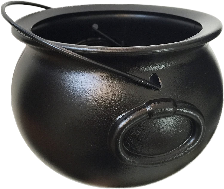 Plastic Black Cauldron on Amazon