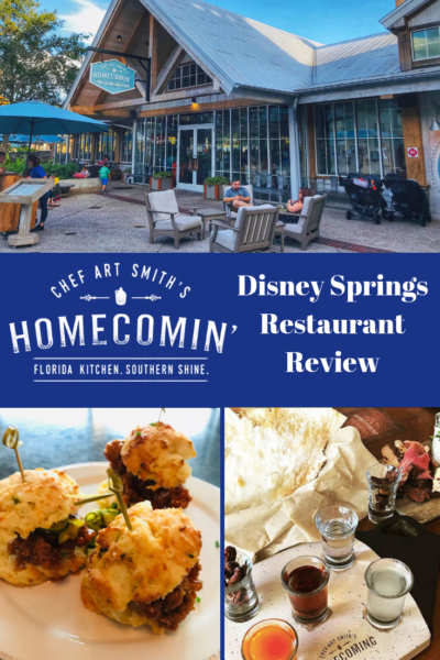 Review of Chef Art Smiths' Homecomin' Kitchen at Disney Springs. Quite possibly, the best restaurant at Disney World. #DisneyWorld #Disney #DisneyDining #DisneyFood #DisneyPlanning
