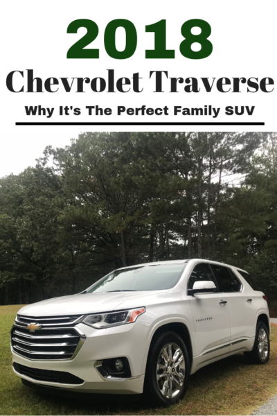 Looking for an SUV that can be your daily driver, offers great safety + tech and handles road trips? Read my 2018 Chevrolet Traverse review and see why it's the perfect family SUV. #CarReview #ChevyTraverse #FamilyTravel #Traverse #Chevrolet #ChevyLife #SUVReview