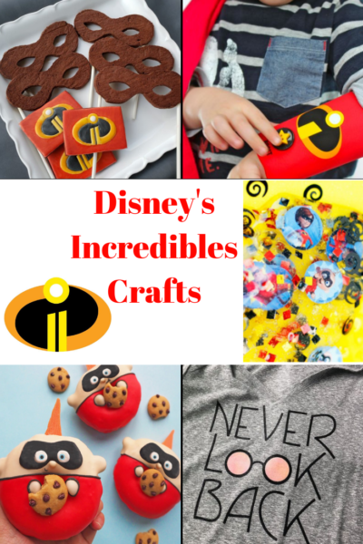 Disney Incredibles Crafts that the whole family can enjoy! From t-shirts to painted rocks, here's a great list of crafts for the superhero within. #Incredibles2 #Incredibles2BluRay #DisneyCrafts #Disney