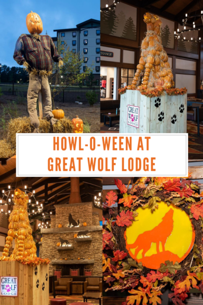 Take a family fall vacation at Great Wolf Lodge with their seasonal Howl-O-Ween event! Read what they offer for kids of all ages and why it's the perfect weekend getaway. #Halloween #GWLHalloween #GreatWolfLodge #FamilyTravel
