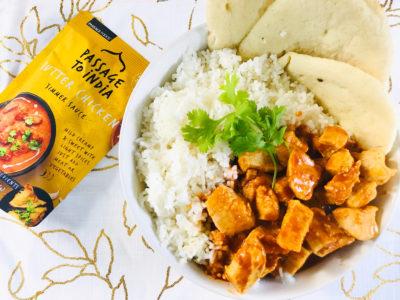 Butter Chicken, Indian Butter Chicken Recipe, Easy Indian Butter Chicken Recipe, Naan Bread, Homemade Naan Bread