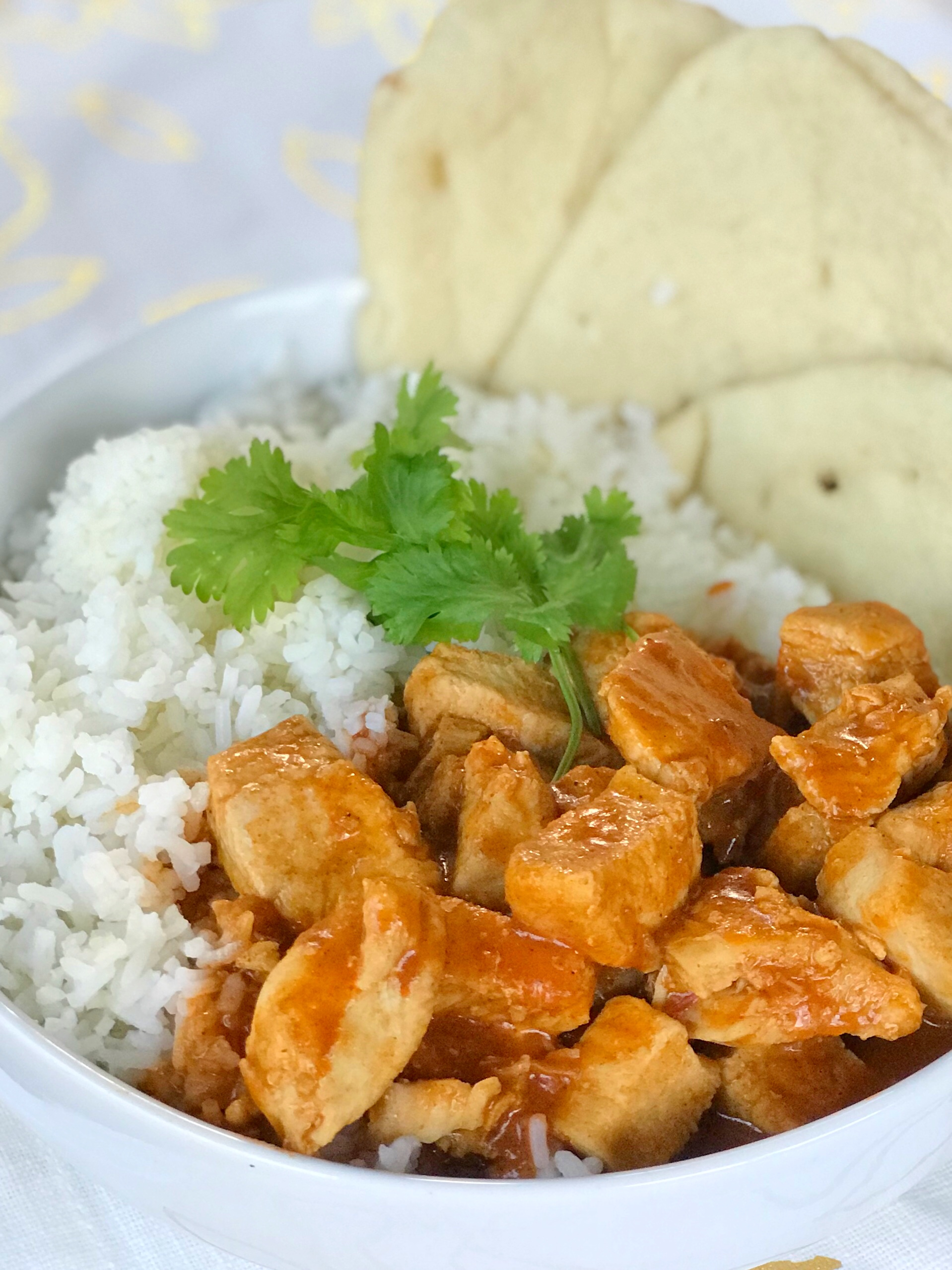 Easy Indian Butter Chicken With Homemade Naan Bread Recipe