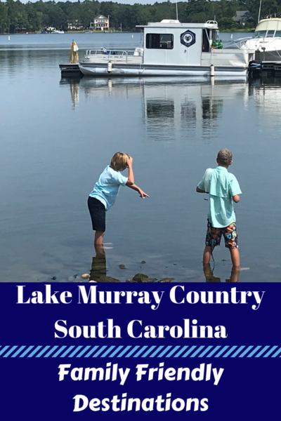 The best family-friendly tourist locations in Columbia South Carolina and the surrounding areas. These Lake Murray Country Kid's Destinations will be a hit on your next family vacation. #FamilyTravel #Travel #SouthCarolina #ColumbiaSouthCarolina #LakeMurray #LakeMurrayCountry
