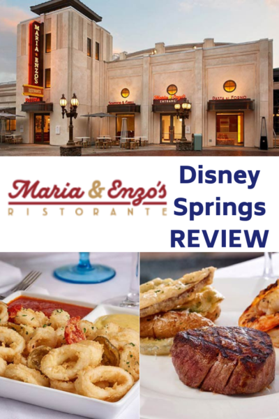 Full review of Maria & Enzo's Italian Restaurant at Disney Springs. See why it's one of the most popular dining choices on Disney property. It's the best Italian food at Disney Springs. #DisneySprings #Disney #DisneyWorld