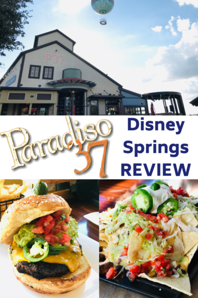 Restaurant review of Paradiso 37 at Disney Springs, located on Disney property. See why it offers something for the whole family + nightly drink specials. #DisneySprings #DisneyWorld #DIsneyTips