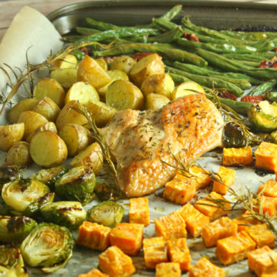 Sheet Pan Turkey Dinner Recipe: Easy Thanksgiving
