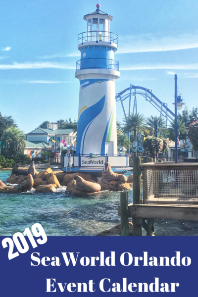 Check out the 2019 SeaWorld Orlando Events Calendar which includes all of their festival dates for the season. Plus, tips for taking toddlers to the park. #SeaWorld #SeaWorldOrlando