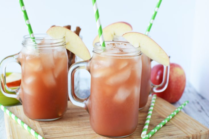 Non-Alcoholic Apple Cider Punch: Perfect For Thanksgiving