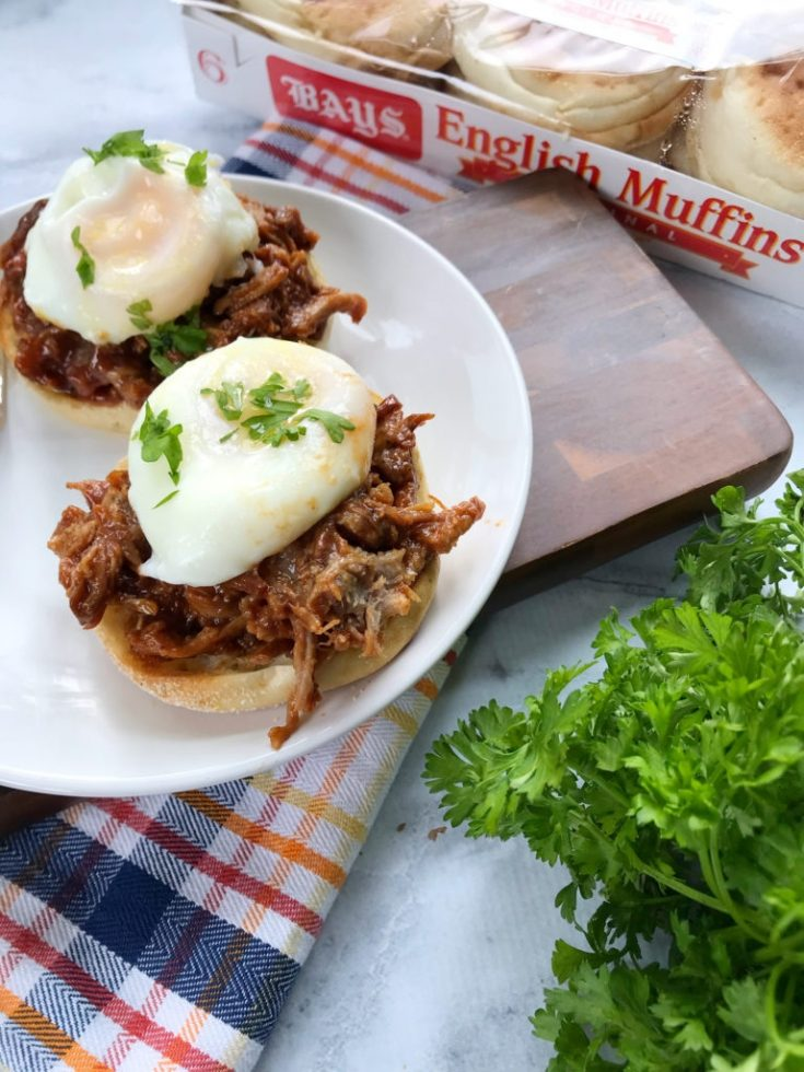 Pot Belly Eggs Benedict: A Delicious BBQ Twist On Brunch