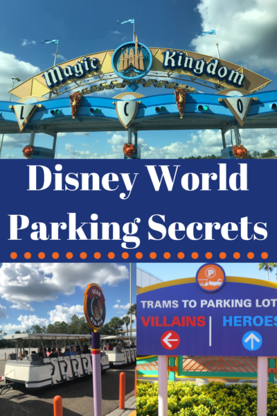 These Disney World parking secrets are direct from the pros! How to navigate the parking lots without hassle, keep your car safe, what to do if you have vehicle issues at Disney and even how to save money! #DisneyWorld #WaltDisneyWorld #DisneyVacationPlanning #DisneyVacation #FamilyTravel #Disney
