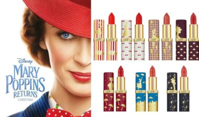 L'Oreal x Disney Mary Poppins Returns