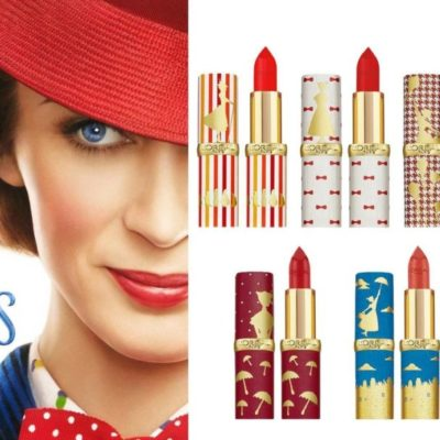 "L'Oreal x Disney ""Mary Poppins Returns"" Collaboration"