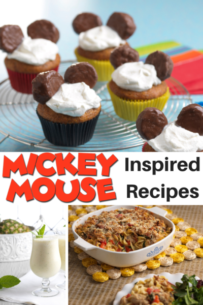 Created by Dole, these Mickey Mouse inspired recipes are the perfect way to celebrate everybody's favorite Disney character. #Mickey #MickeyMouse #Mickey90 #DoleLiving #HealthyRecipes
