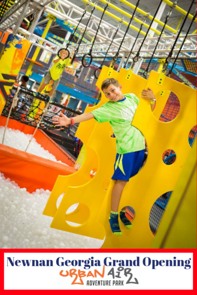 Everything you need to know about Newnan, Georgia's newest family attraction: Urban Air Adventure Park! #AD #ActivateAwesome