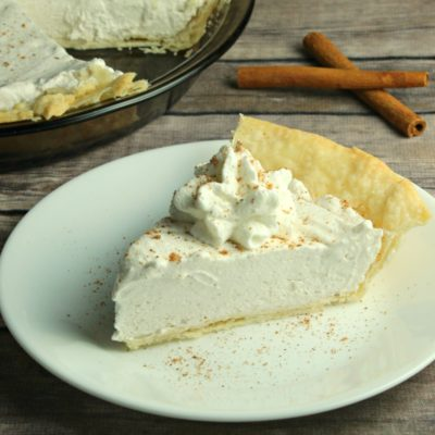No-Bake Eggnog Pie Recipe: A Foolproof Christmas Dessert