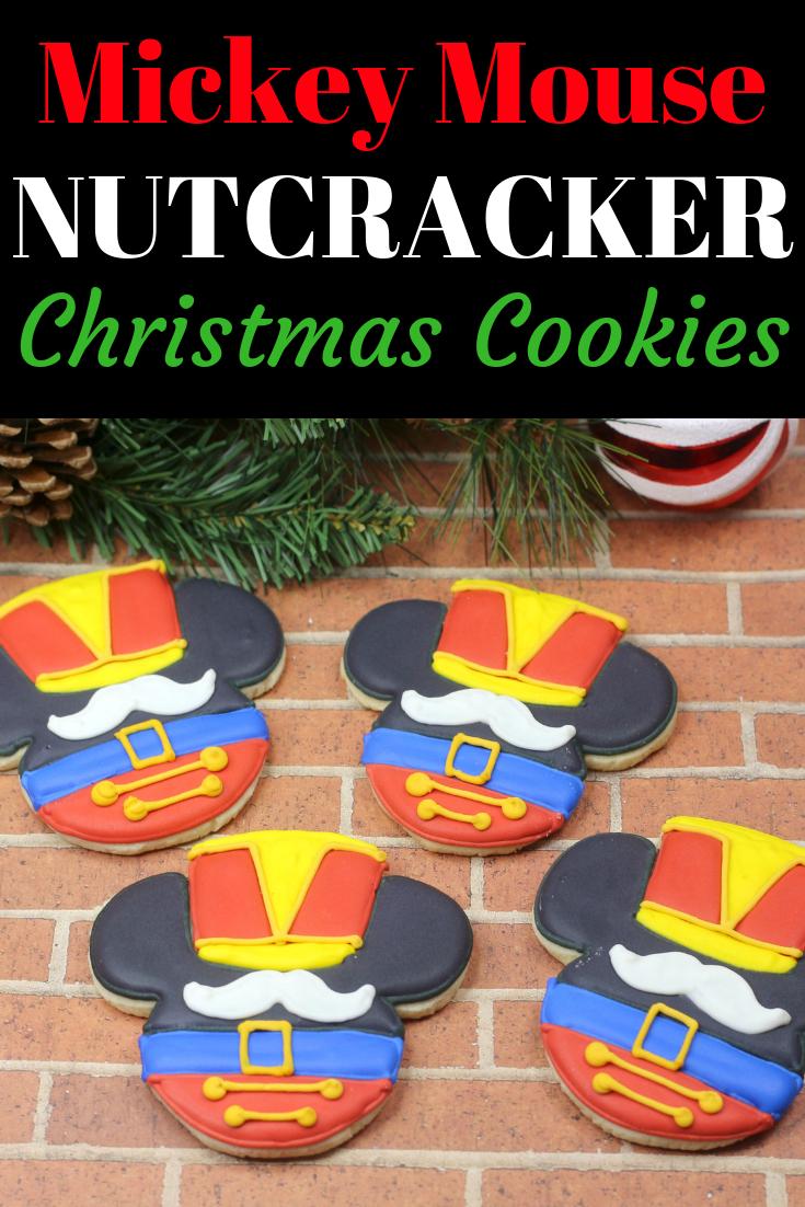 Disney Christmas Sugar Cookies Mickey Nutcracker Cookies