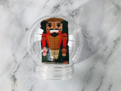 Christmas Snow Globe Craft, Christmas Kids Craft, Snow Globe Craft, DIY Snow Globe, Disney's Nutcracker and the Four Realms Craft