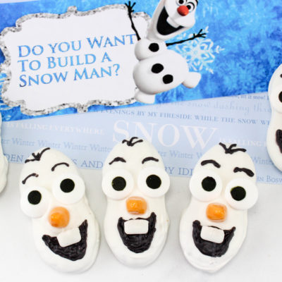 Fun Olaf Cookies To Make With Kids – Inspired by Disney's Frozen