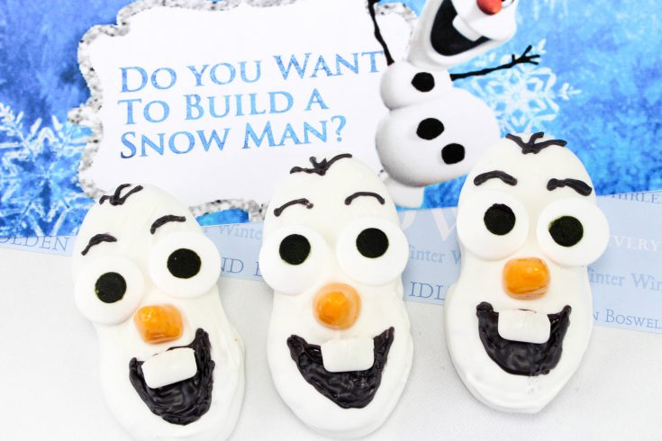Olaf Frozen Cookies, DIY Olaf Cookies