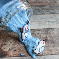 Frozen Inspired Olaf Slime Recipe: A Winter Kids Craft
