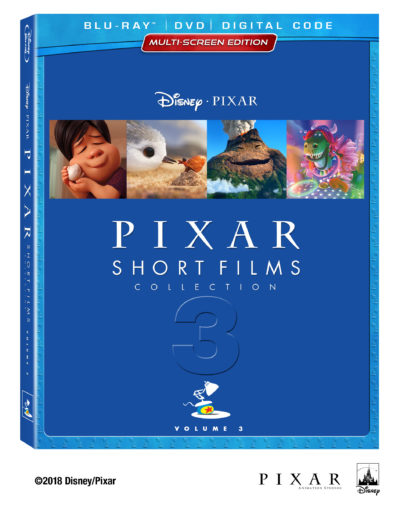 Pixar Short Films Volume 3, Pixar Short Films Collection