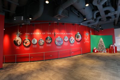 Christmas at World of Coke