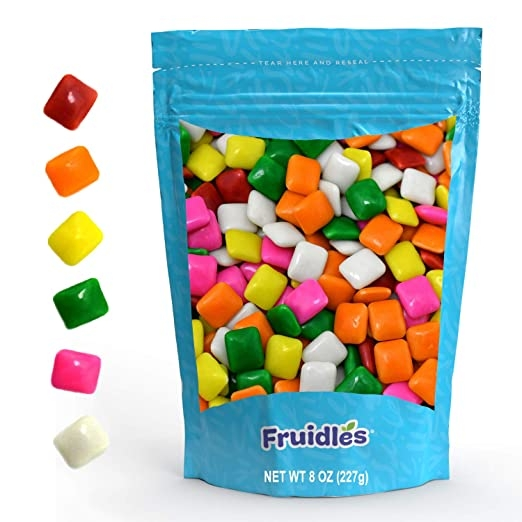 White Chiclets Gum Candy on Amazon