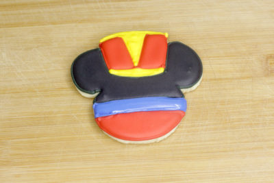Disney Christmas Sugar Cookies, Mickey Nutcracker Cookies, Mickey Christmas Cookies