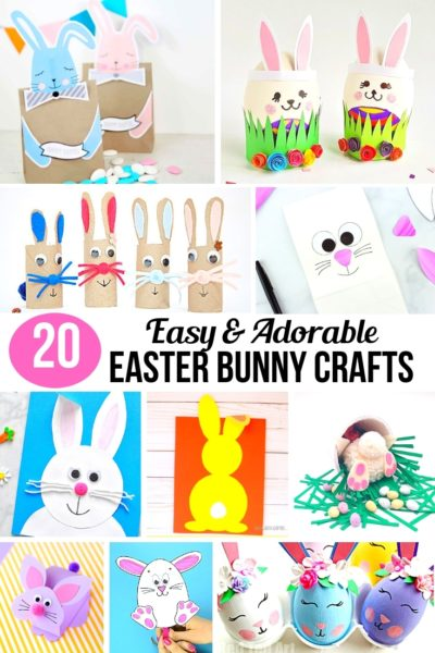 These Easter Bunny Crafts are