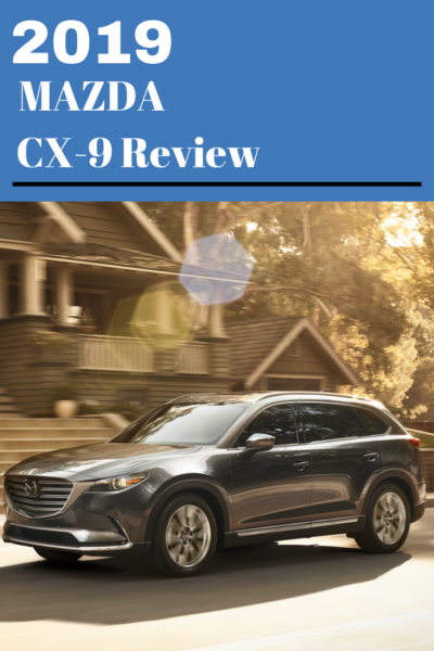 See why the 2019 Mazda CX-9 has been updated with new technology and safety features to make it an award-winning SUV. #mazda #Suv #SUVReview #CarReview