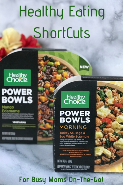 Are you a busy Mom on-the-go? Stay fueled with my favorite healthy eating shortcut: NEW Healthy Choice Power Bowls! #AD #Feelunstoppabowl