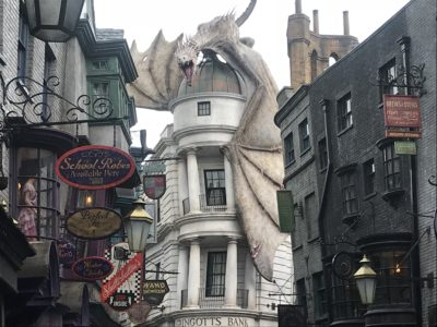 Diagon Alley, Wizarding World of Harry Potter, Universal Orlando,