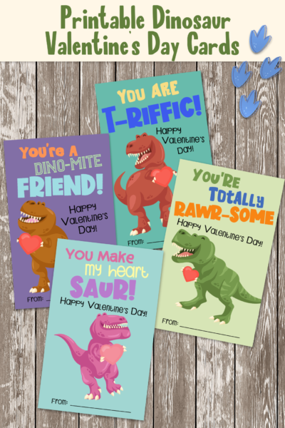 Does your kid love Dinosaurs? Download your free printable valentine cards for kids! These dinosaur valentines are sure to be a hit with your little one. #Dinosaurs #ValentinesDay #PrintableValentines #KidValentines #ValentinesDay #ValentineCards #KidsValentineCards